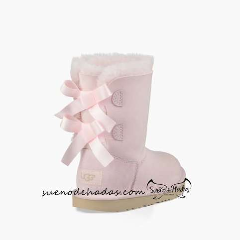 UGG T BAILEY BOW PINK