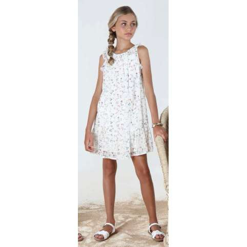 AMAYA VESTIDO  NATURAL JUNIOR 310720