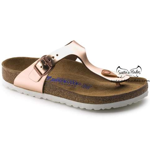 BIRKENSTOCK SANDALIA DEDO ELECTRIC METALLIC COPPER