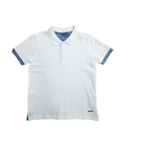 GUESS POLO BLANCO