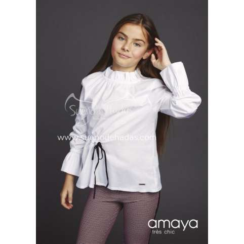 AMAYA  PANTALON GRANATE