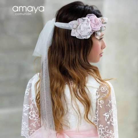 corona de comunion de amaya fashion for kids