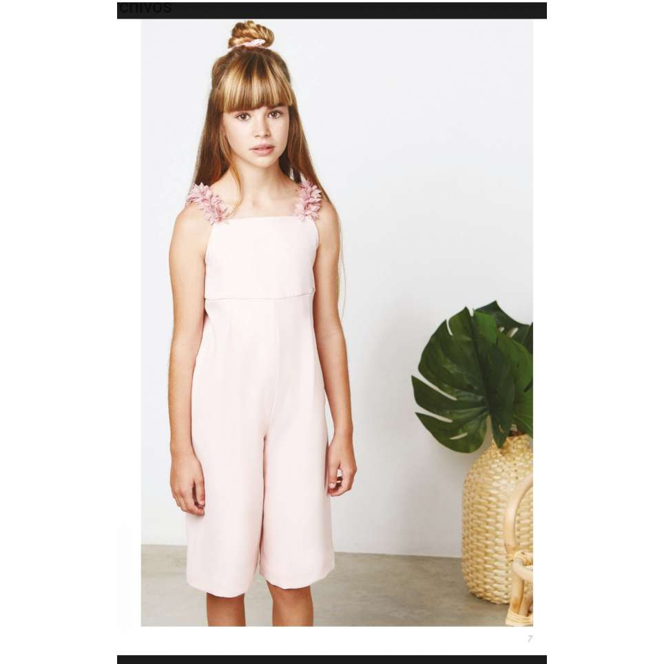 Amaya mono junior tres chic rosa