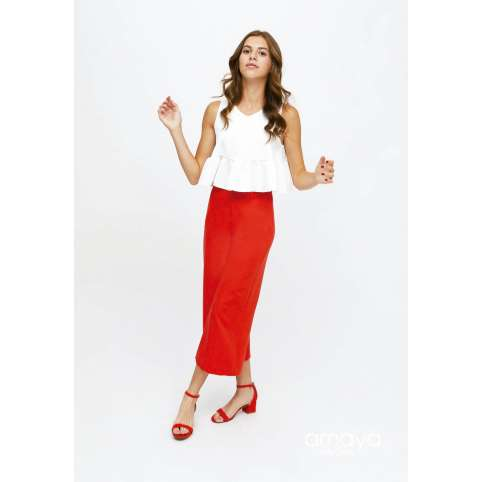 Amaya for teen pantalon rojo 515053