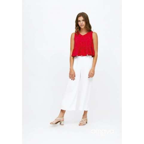 Amaya for teen pantalon blanco 515053