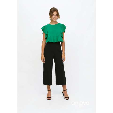 Amaya for teen pantalon negro 515053