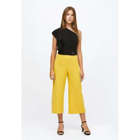 Amaya for teen pantalon mostaza 515053