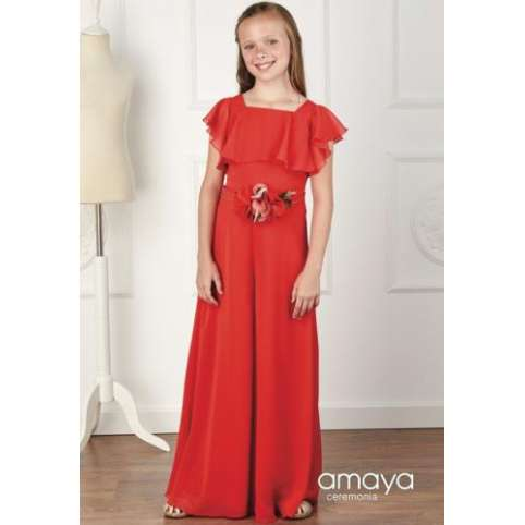 Amaya Fashion For kids cinturon rojo